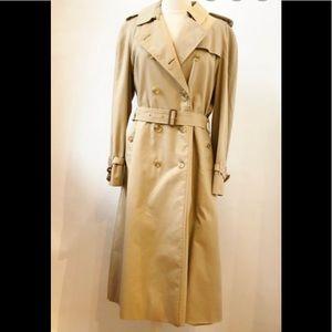 Burberry Prorsum label trench coat
